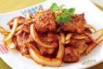 醬油洋葱炒豬扒 ( Fried Pork Chops with Qnion in Soy Sauce )